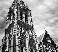 Christchurch Cathedral by bunnybunbuns