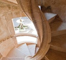 Tomar. Convent of Christ. Cloister stairs by terezadelpilar~ art & architecture