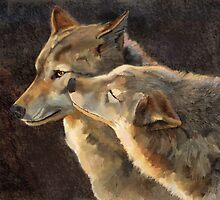 WolfKiss by John Ryan