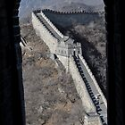 Great Wall Of China by Mark  Mazzone