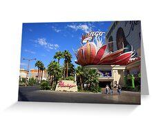 Las Vegas, 2008 Greeting Card