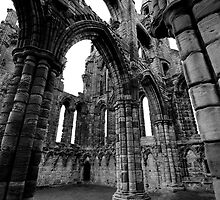 Whitby Abbey by LadyThegn