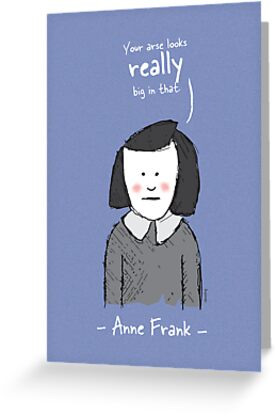 Anne Frank by samedog