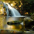 Waitui Falls NSW North of Taree by Andrew Prince
