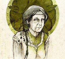 Olenna Tyrell by elia, illustration