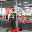 Guard on duty at the Canton Fair by sunnydreams