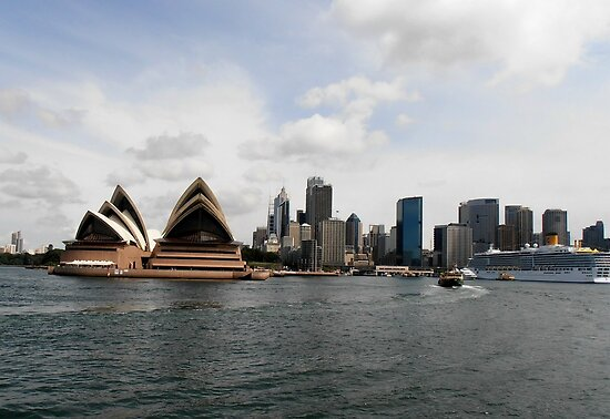 Stunning City of Sydney Skyline, Sydney, Australia. by kaysharp