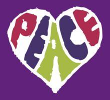 Peace Heart 2 by Ashton Bancroft