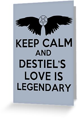 Destiel is Legendary by saniday