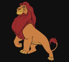 the lion king Mufasa by jem16