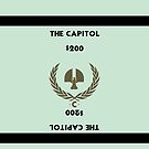 Hunger Games - Monopoly - The Capitol by amanoxford