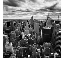NYC: Skyline Photographic Print