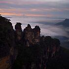 The Three Sisters, Blue Mountains, Australia by Tony Theobald