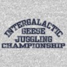 Intergalactic Geese Juggling Championship by Ashton Bancroft