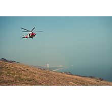 Coastal Rescue Photographic Print
