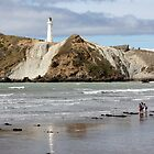 Castlepoint light by Mike Warman