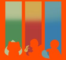 RGB: Bulbasaur, Charmander, Squirtle Kids Clothes