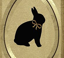 BUNNY IN EGG WITH A TOUCH OF GOLD by ✿✿ Bonita ✿✿ ђєℓℓσ