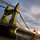 Hammersmith Bridge by Peta Thames