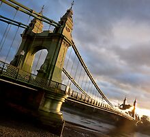 Hammersmith Bridge by Silken Photography