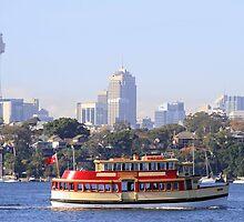 Sydney Ferry- Radar by Noel Elliot