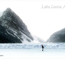Lake Louise postcard by Olga