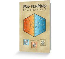 Pro-Bending Tournament Greeting Card