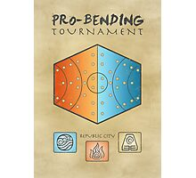 Pro-Bending Tournament Photographic Print