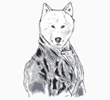 William D. Wolfington (The Gentleman Wolf) by Miln3r