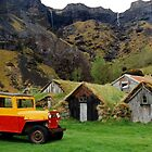 Colour in Kaltafjall, Iceland by Graeme  Hyde
