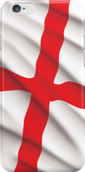 England iphone Case by Paul-M-W