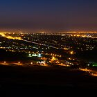 Pretoria at night #1 by Rudi Venter