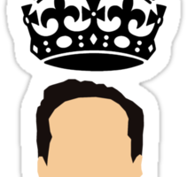 Moriarty,You should see me in a crown Sticker