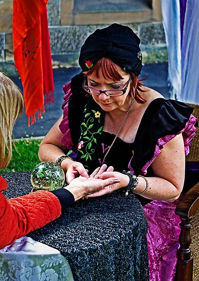 The Fortune Teller by TonyCrehan