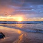 Turimetta Beach HDR Sunrise No 2 by Jennifer Bailey