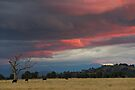 Sunset near Murrumbateman by Werner Padarin