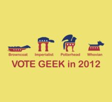 VOTE GEEK in 2012 Kids Clothes
