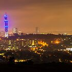Pretoria at night #4 by Rudi Venter