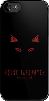 House Targaryen Minimalist iPhone Case by liquidsouldes