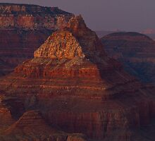 The Grand Grand Canyon - Southern Rim - 16 - The Last Light ©  by © Hany G. Jadaa © Prince John Photography