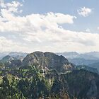 bavarian alps panorama by shannon browning