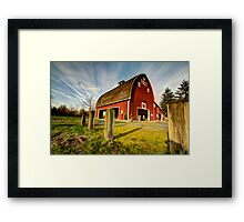 Tolt-MacDonald Barn Framed Print