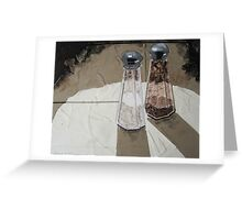 """""""Shakers in the spotlight"""" Greeting Card"""