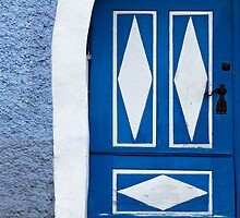 Rustic Old Door by Walter Quirtmair