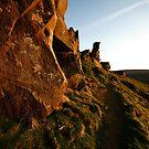 Wainstones - evening by PaulBradley