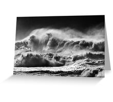 Winter Waves At Pipeline Greeting Card