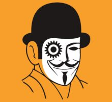 Anonymous orange clockwork by karlangas