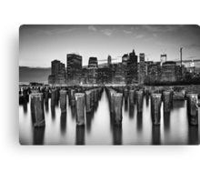 City Zen Canvas Print