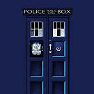 Tardis doctor who - 11th Doctor - iphone 4 4s, iPhone 3Gs, iPod Touch 4g case by www. pointsalestore.com