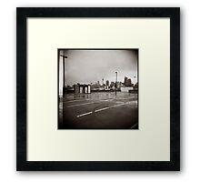 { parkade } Framed Print